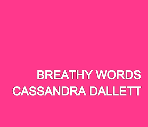 breathy words