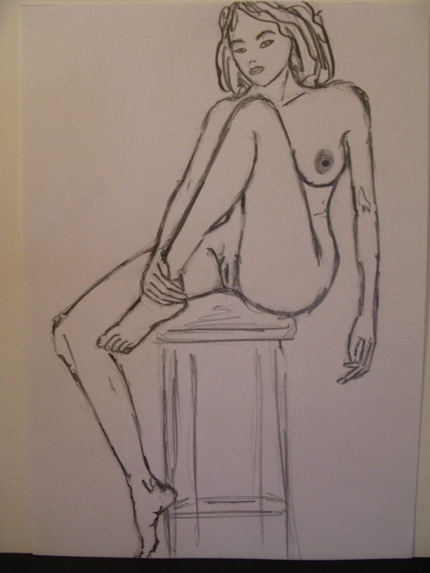 nude_woman_sitting_on_a_chair_with_a_leg_drawn_28drawing_by_forte29